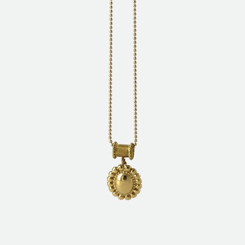 Signature flower Necklace - volume goldoblatt