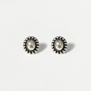 Signature flower Earring - volume / vintageoblatt
