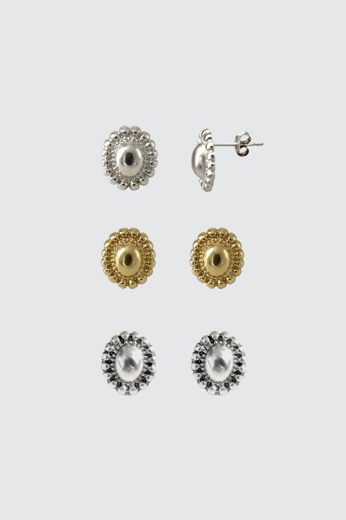 Signature flower Earring - volume typeoblatt